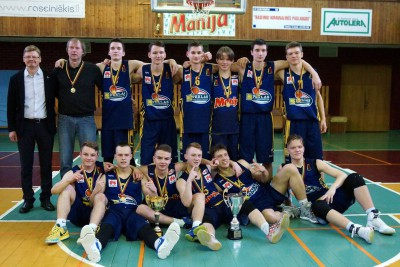Š.Marčiulionio KA – Jaunių U18 vaikinų B diviziono čempionė (FOTO, VIDEO)