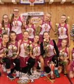 U14 mergaičių B diviziono nugalėtojos – Ukmergės SC  krepšininkės