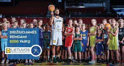 LIDL oficialus moksleivių krepšinio lygos rėmėjas