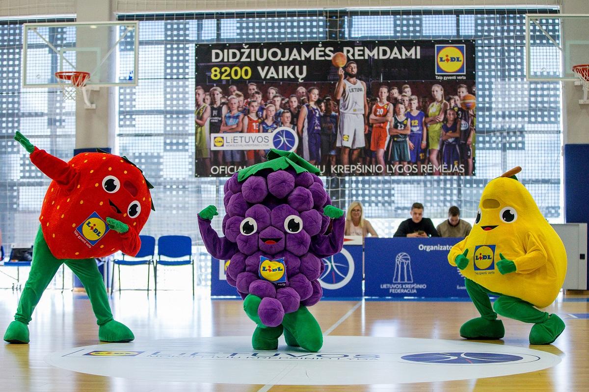 Sekmadienį Kėdainių arenoje karaliaus jaunieji krepšininkai (video)
