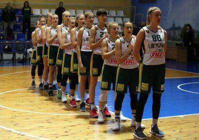 Europos jaunučių merginų čempionatas vyks Lietuvoje