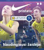 Geriausi sausio mėnesio krepšininkai – A.Garčinskaitė ir E.Preibys