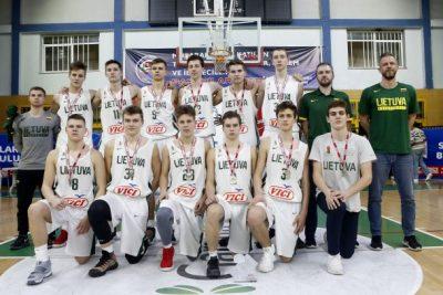 Lietuvos šešiolikmečiai turnyre Turkijoje užėmė antrą vietą