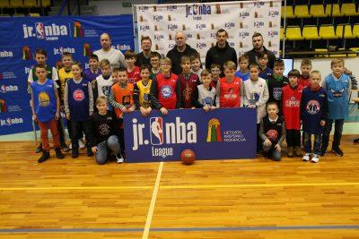 """Jr.NBA Lietuva čempionato burtus ištraukęs B.Matkevičius: """"Čia gali gimti būsimos žvaigždės"""""""