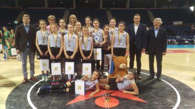 Namų sienos padėjo – Panevėžio KKSC tapo mergaičių U12 Lietuvos čempionėmis