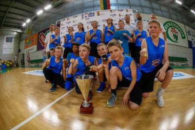 """""""Jr.NBA Lietuva"""" čempionais tapo V.Knašiaus KM"""