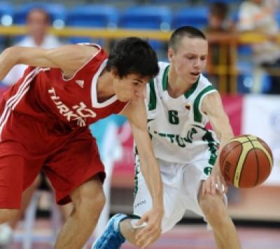 Lietuvos 15-mečiai krepšininkai – Europos olimpinio festivalio finale (FOTO)
