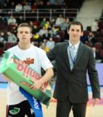 Moksleivių krepšinio lygos vadovas D.Čiuprinskas: džiugu, kad einame į priekį