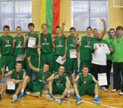 Lietuvos penkiolikmečių rinktinė – V.Ryženkovo turnyro Minske nugalėtoja