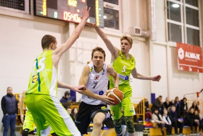 Mėnesio dvikovoje Sostinės krepšinio mokyklos pergalė