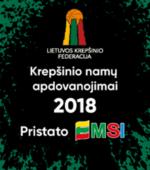 Prasidėjo geriausių Lietuvos krepšininkių ir krepšininkų rinkimai
