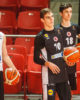 Sostinės KM auklėtiniai treniravosi kartu su Vilniaus Ryto krepšininkais