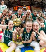 Dvikovos pabaigoje vos nenudegusios KM Žalgirio II merginos – U18 čempionės