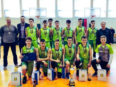 Ukmergėje vykusio U15 vaikinų B diviziono finalo ketverte – šeimininkų triumfas