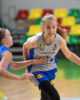 Beveik pusšimtį taškų pelniusi J. Jocytė išvedė klaipėdietes į U14 finalą