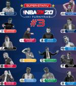 Trečiojo NBA 2K20 turnyro dalyviai pasiskirstė komandomis ir sužinojo savo varžovus