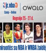Kviečiame dalyvauti antrojoje virtualioje Jr. NBA stovykloje!