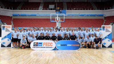 """Skelbiamas konkursas dėl dalyvavimo """"FIBA Europe Coaching Certificate"""" kursuose"""