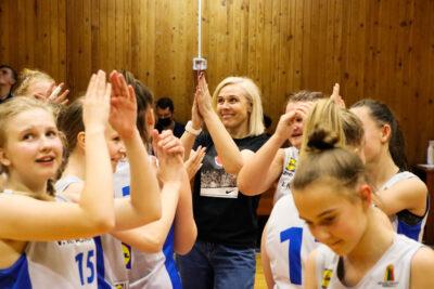 LIDL-MKL U14 mergaičių finalo antrąja dalyve tapo V. Knašiaus KM