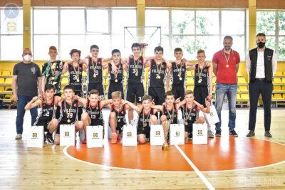 LIDL-MKL U13 berniukų B divizione triumfavo Sostinės KM II – Ereliai