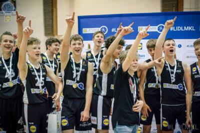 Finalo ketverte dominavusi Sostinės KM I laimėjo U14 berniukų pirmenybes