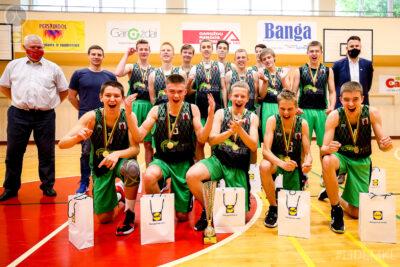U16 vaikinų B divizione triumfavo Panevėžio SC krepšininkai