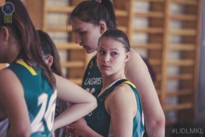 Žalgirietės patvirtino favoričių statusą ir žengė į U18 merginų finalą